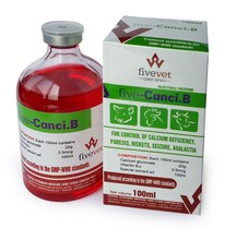 Calcium 20%, Vitamin B12 250cmg/100ml injectable, tonic