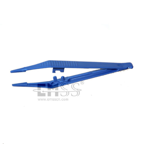 Disposable medical plastic tweezers with low price