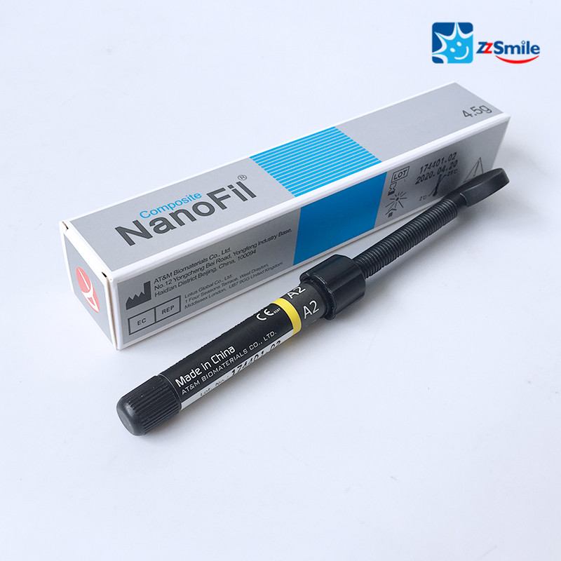 CE Approved GK NanoFil Light Curing Composite A2/Dental Composite Resin 4.5g