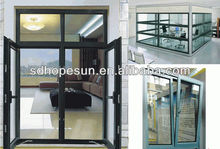 2013 hot/6063 T5/Heat insulation/Inner coating and outer electrophoresis/Aluminum extruded Profile for windows and doors
