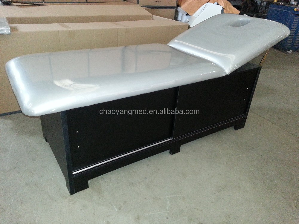 cheap price and high quality wooden massage table & wooden spa salon oil sex bed thai massage & portable facial bed CY-C235B
