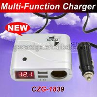 18AWG cable max current 15A 4-wheel drive offroad accessories CE ROHS FCC approved low price car batery charger