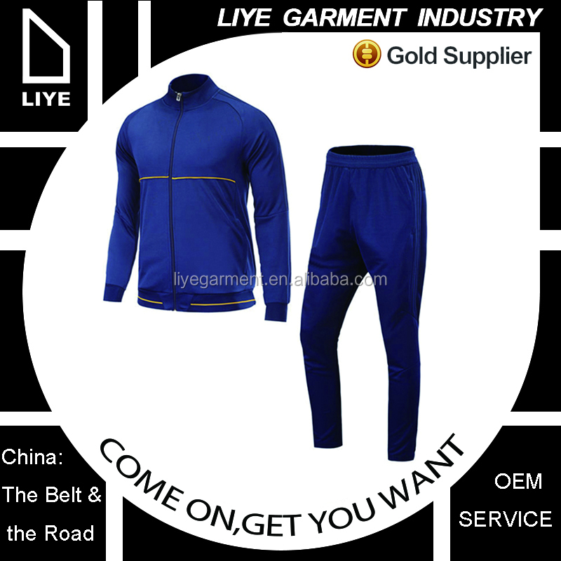 cheap profesional tracksuit manufactory design your own tracksuit