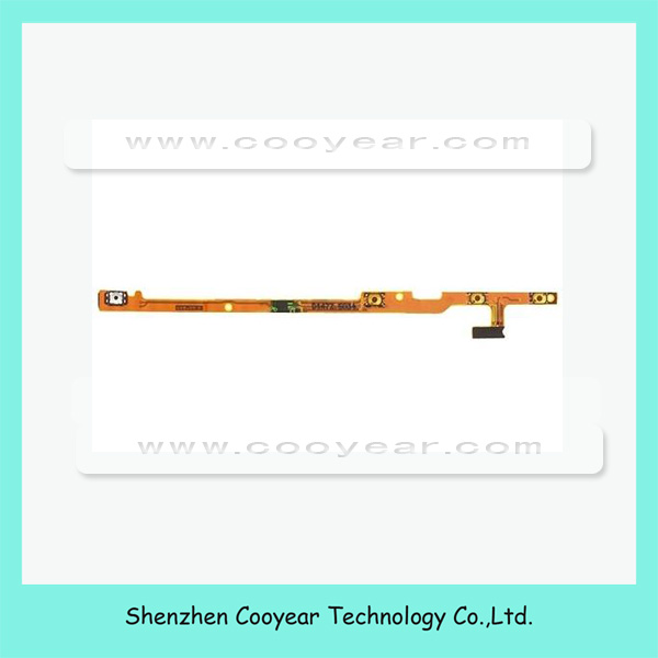 Side Key Flex Cable Ribbon up down Volume Button Flex Cable For Nokia 720 Power On Off Switch Flex Cable