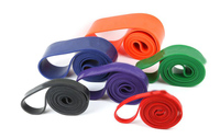2016 Colorful Different Tension Custom Door Gym Fitness Latex Resistance Band