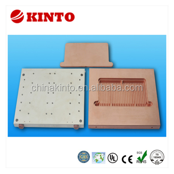 Liquid-cooled heat sink, heatsink, cooling plate