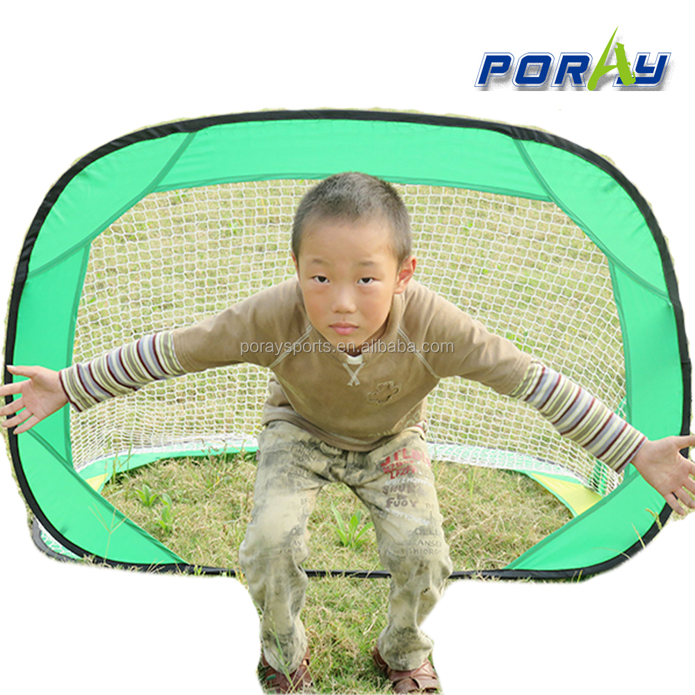 Poray New Colourful Pop Up Football Goal Pop-up Soccer goal mini soccer goal