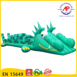 Promotion Giant Inflatable Water Slide For Kids And Adults