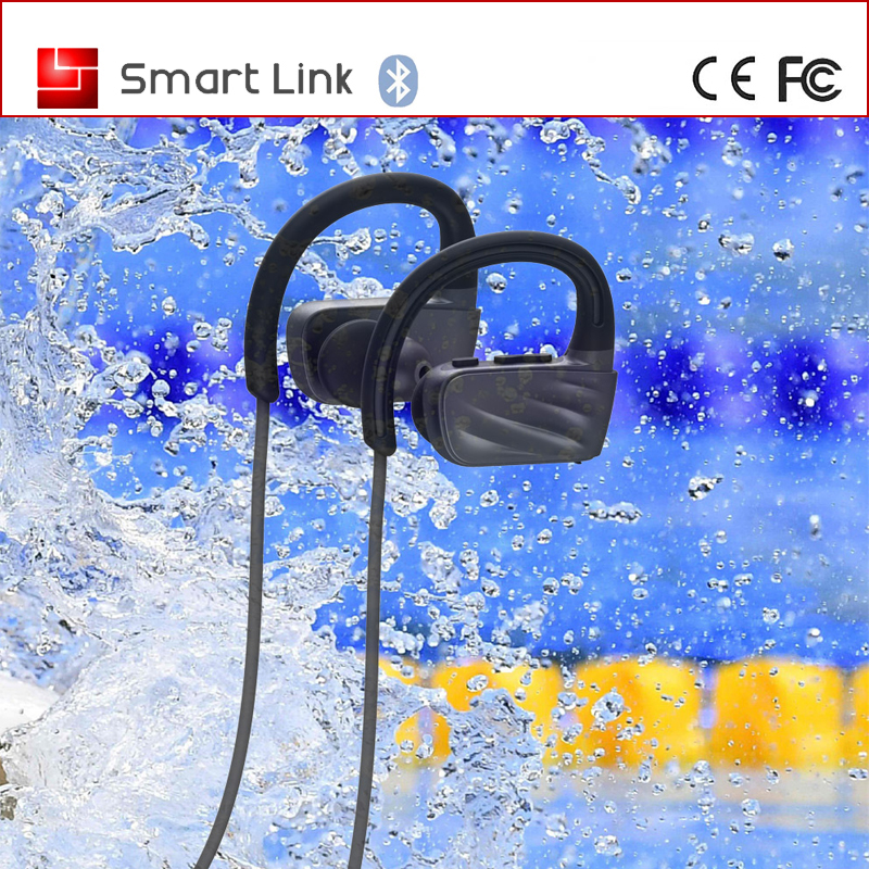 IPX7 waterproof wireless MP3 player sport bluetooth headset for swimming