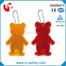 popular selling reflective crystal keychain