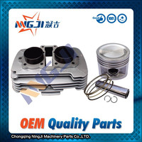 High Quality Motorcycle Cylinder kit Use for honda CBT250 Double cylinder Water-Cooled Aluminium Alloy 53 mm