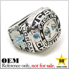 Custom metal sport mens championship stainless steel rings jewelry