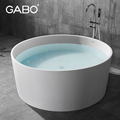 Man-made Stone whirlpool massage bathtub