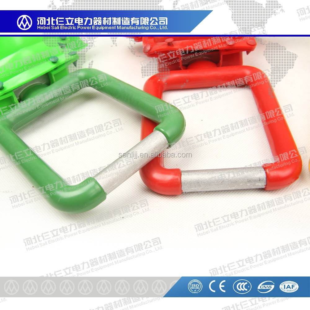 2015 High Quality suitable for kinds specification conductorJDL serious Earthing Clamp and Insulation Cover