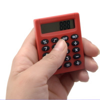 Back to School Mini Cheap Square Pocket Calculator for kids