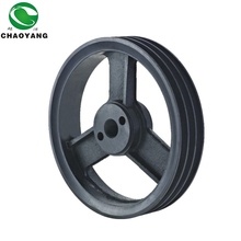 big size cast iron v belt pulley