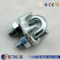 rigging hardware galvanized fastener wire rope clips type b