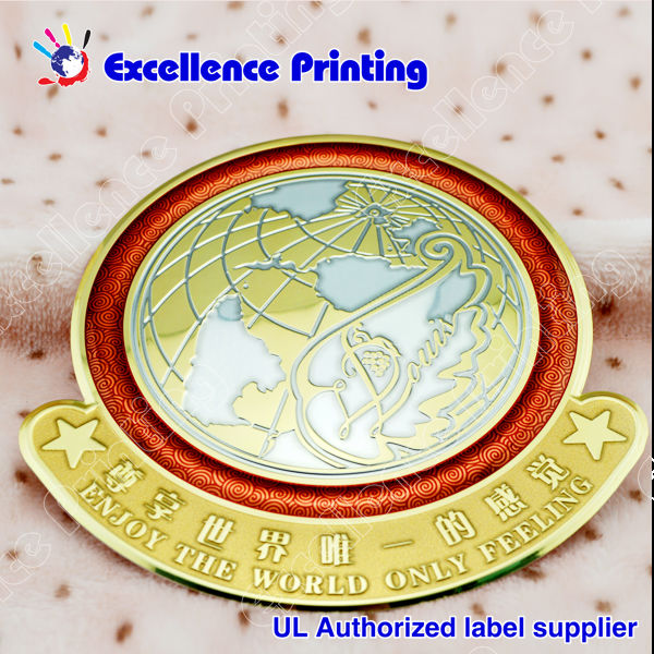 professional design engraved metal labels for furniture