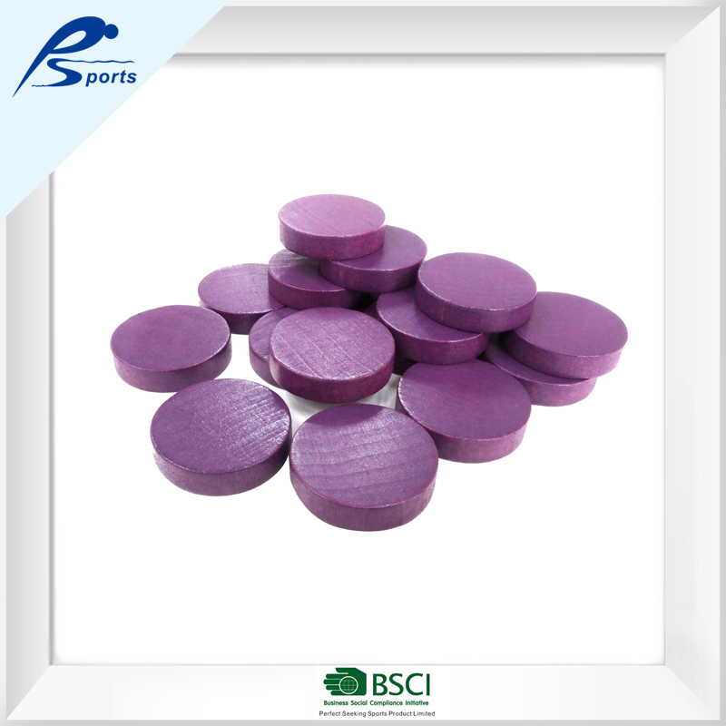 construction toy for young children purple wooden round counting pieces blcoks