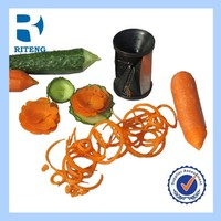 As seen on TV Spiral Vegetable Slicer/Spiral Cutter/plastic turning slicer/Grater/Zester