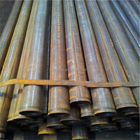MS Black Welded Steel Pipe