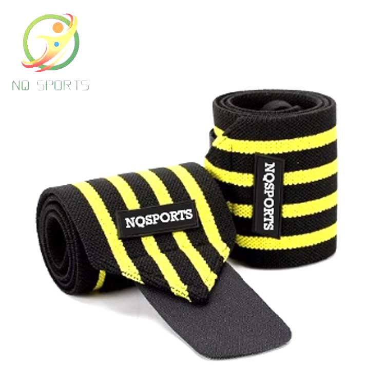 Customized <strong>Weight</strong> Lifting <strong>weight</strong> lifting sports elastic Fitness powerlifting custom knee brace strap elastic knee wraps