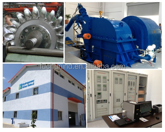 Water turbine generator unit / Hydro power plant /EPC project
