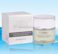 Popular and top quality moisturzing and revitalizing best skin whitening bright face night cream