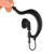3.5mm Jack Only Listen Two Way Radio Earphone