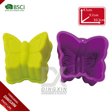 Butterfly shape silicone muffin baking cups