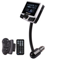 high quality Portable Car Wireless Bluetooth Phone Handsfree MP3 Player FM Transmitter with Remote Control Support SD Card