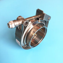 S.S304 male and female flanges quick release v band clamp