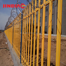 Popular online palisade fence, euro panel garden fence for sale