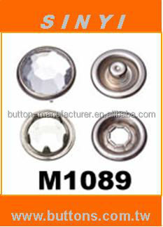 Prong Snap Button-M1089