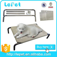 outdoor elevated chewproof camping cot resistant dog bed