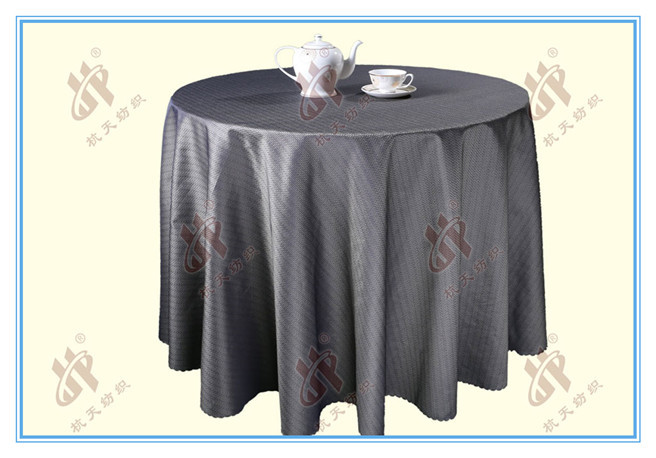120 inch Round Polyester Damask Wedding Table Cloths