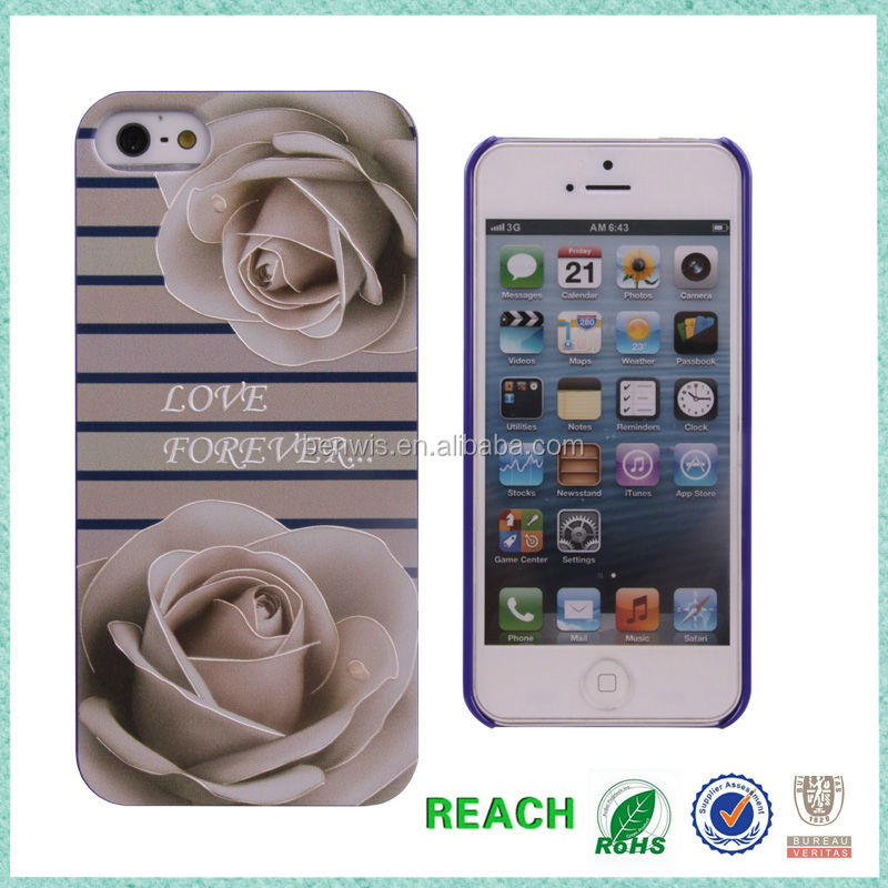 Small order accepted 3D printing customized picture case for iphone 5s case