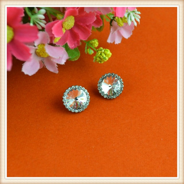 fancy glass craft design coat buttons for clothing