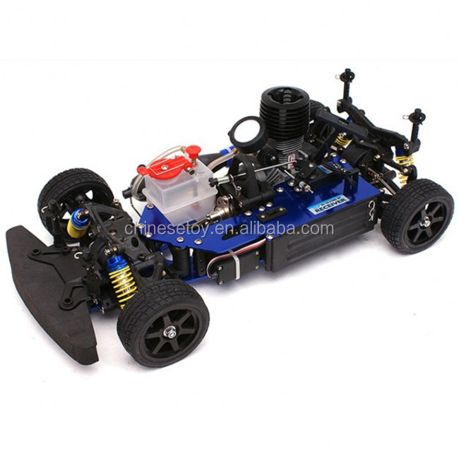 1/10 RC Nitro Powered Car 18 Engine 4WD Off-Road RTR Racing Nitro Buggy Car