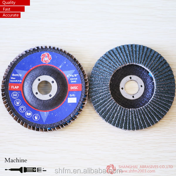 coated abrasive round glass round metal flap disc