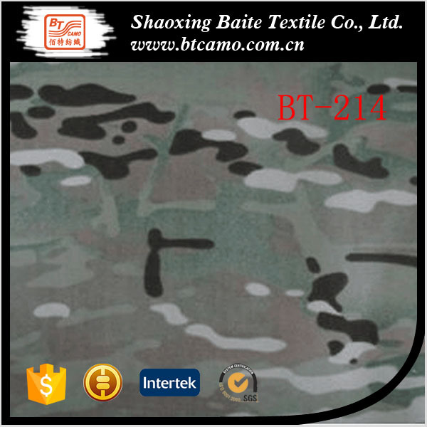 latest design military camouflage twill woodlan multicam fabric