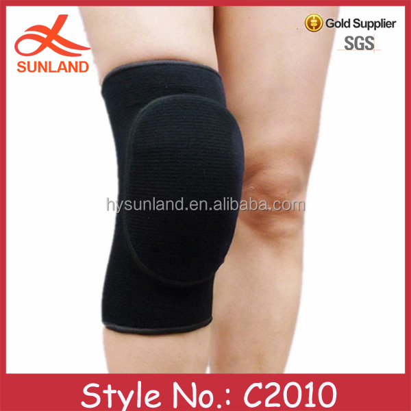 C2010 top sale new product knee support brace volleyball sport sponge kneed pad