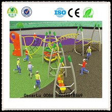 natural playgrounds swings for kids unique outdoor toys equipment (QX-18043A)