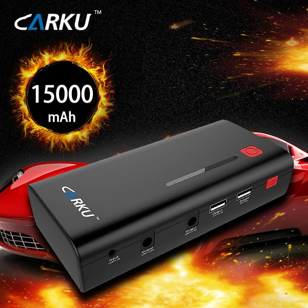 15000mAh CARKU high power jump starter booster