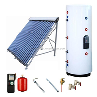 Solar water heater / Split High Pressure Wish Solar collector and Working station