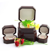 Wood Paper Jewelry Set Box Ring Box Earring Box