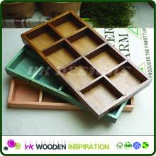Wholesale unfinished wood trays for Home Decoration