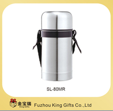 800ML stainless steel vacuum airtight food soup container with hand-strap KG-80MR