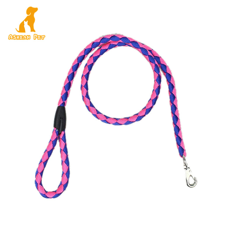 2019 New Pet Supplies Strong Padded Colorful Durable Nylon Dog Leash