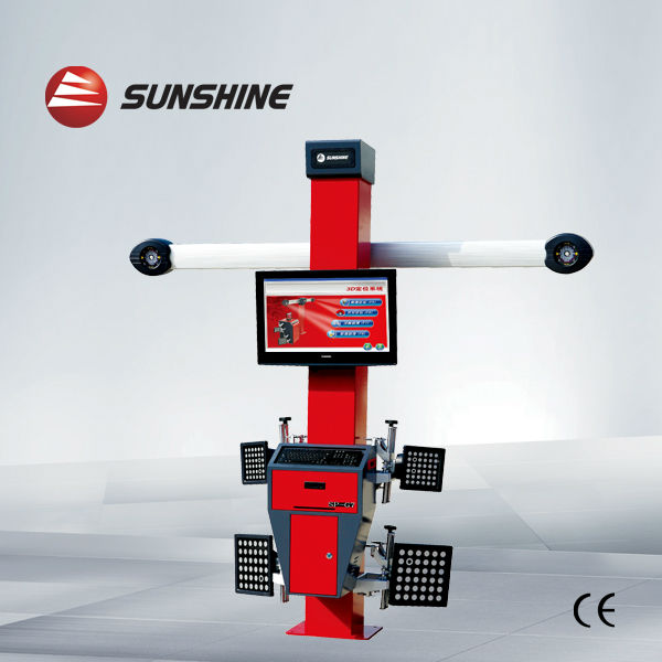 "manufacture & export ""Sunshine"" 3d wheel aligner SP-G7 with CE&ISO"